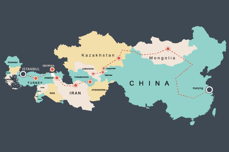 Footprints Across Asia